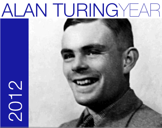 Logo of the Alan Turing Year.